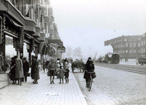 Rotterdam, gezicht op de Beijerlandselaan, datum onbekend