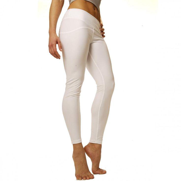 Yogin Seva White Hot Pants: 8.415 Ft