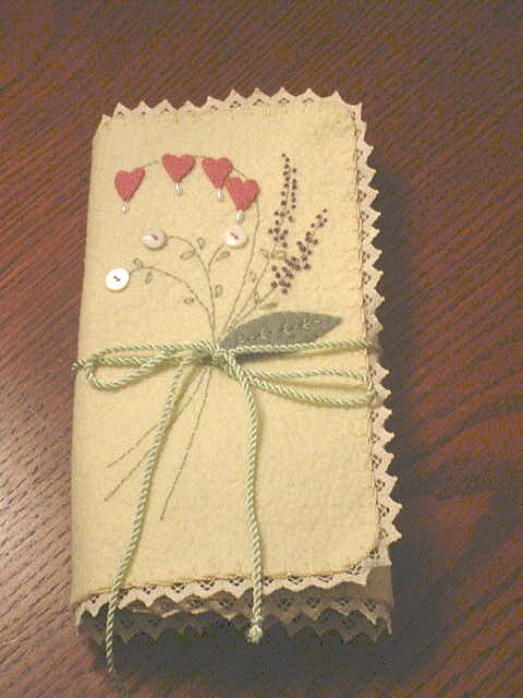 Embroidery Envelope