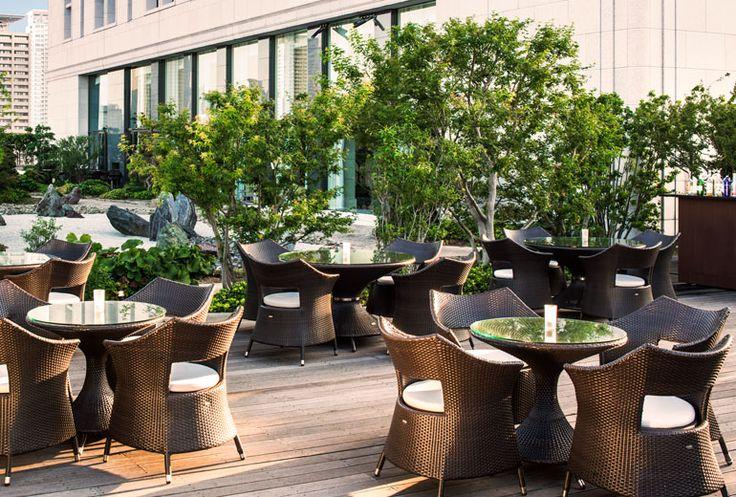The St. Regis Osaka - St.Regis Terrace - Japan & Luxury Travel Advisor – luxurytraveltojapan.com - #Luxuryhotels #Osaka #Japan #Japantravel #stregisosaka
