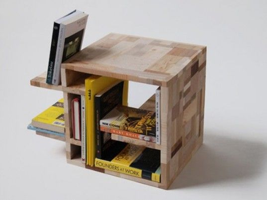 Amy Hunting's Wooden Patchwork Furniture Includes One-Off ...