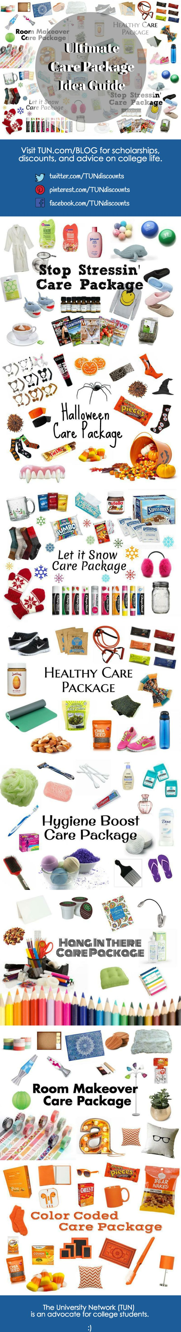 Whether you're giving a care package or receiving one, these simple boxes are a wonderful surprise for any college student. Show someone how much they mean to you with these 8 great care package ideas!