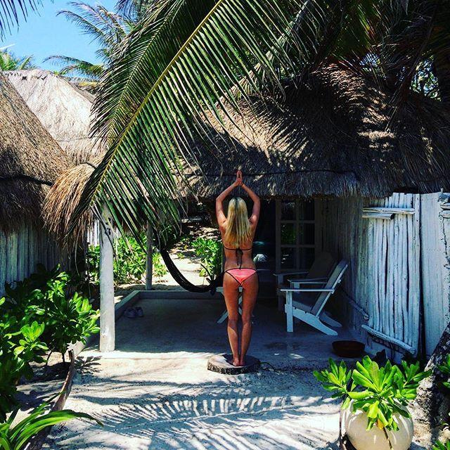 #cabin #beachfront #cocotulum #paradise #beachlife #travel #traveller #travelgram #cabana
