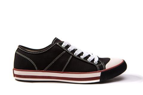 US Rubber Company Harry Lew Signature1902 Classic Vintage Sneaker Midnight Black