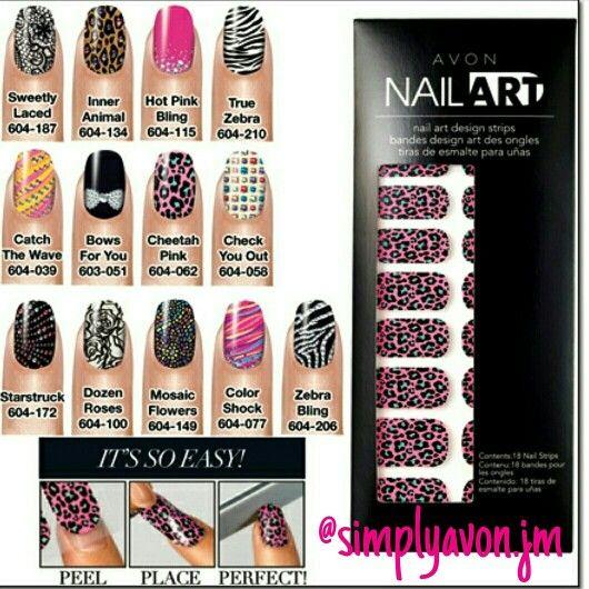 #Avon nail art. It's so easy! Plain nails make me sad. Nail art speaks louder than words. #BeOutspoken #StayPretty #Avon