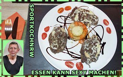 """""""Liebe geht durch den Magen"""" oder wenn das Essen sexy macht!: Lammkoteletts mit""""Limburger-Käse"""" überbacken an P..."""