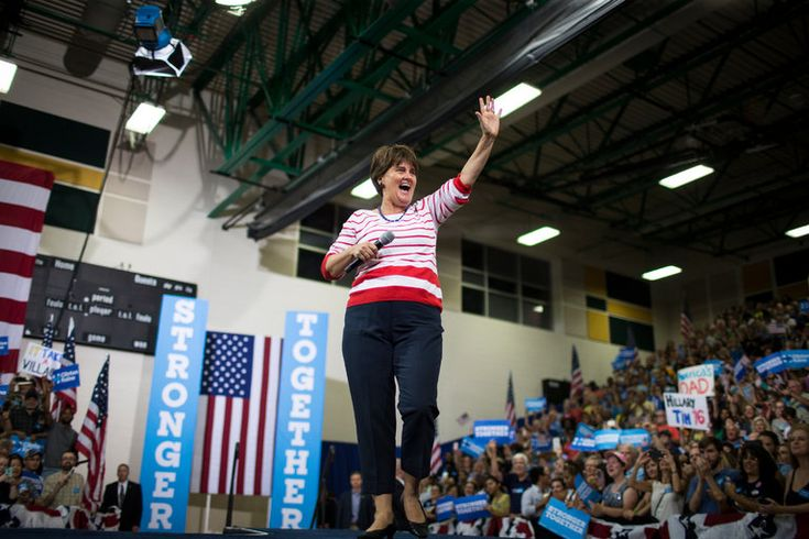 For Anne Holton, Tim Kaine's Wife, Elite Circles Are Old Turf - The New York Times