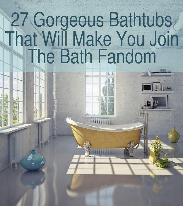 155 best Rub a Dub images on Pinterest | Half bathrooms, Soaking ...