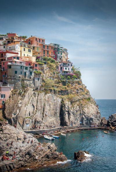 """breathtakingdestinations: """"Riomaggiore - Italy (by Fred PO) """""""