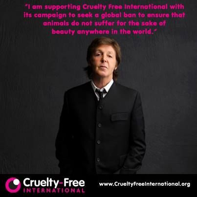 sir paul cruelty free