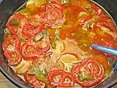 Spanisch: Suppa die Mare (Meeresfrüchtesuppe)