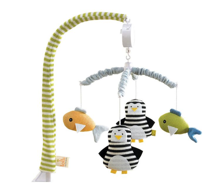 Lolly Living Musical Cot Mobile - Phinley & Friends* - UrbanBaby