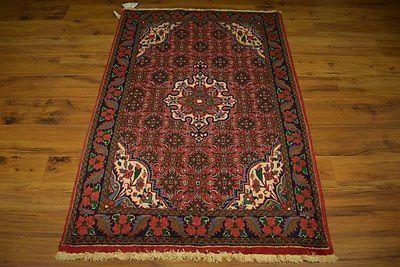 Rust Red 3x5 Zanjan Persian Carpet Clearance Rugs Deals Attractive Handmade Rug