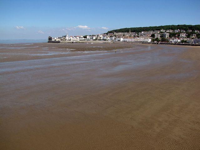 Weston-super-Mare Beach, Somerset, England