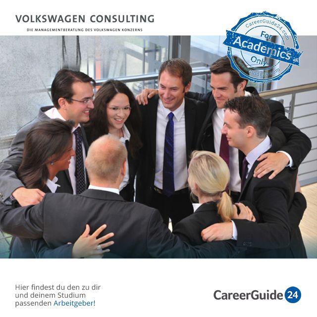"""Bei Volkswagen Consulting handelt es sich um die Inhouse-Beratung der Volkswagen AG, dem größten europäischen Automobilhersteller. Da die Beratung die gesamte Wertschöpfungskette und zahlreiche abwechslungsreiche Projekte umfasst, bieten sich dir genug Möglichkeiten, deine eigene Karriere individuell zu gestalten. Neben dem Direkteinstieg ist auch ein Praktikum möglich. Bewerbungstipps findest du in unserem <a href=""""https://www.careerguide24.com/de/Blog"""" target=_blank>Karriereblog</a>."""