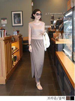 korean fashion online store [COCOBLACK] #koreafashionshop #Fashionwomen  #korea #dailylook #missy #dress #top #skirt #pants #clothsale #missiyfashion #workingmom #missylook #dailylook #homewear #like #want #skirt #裙子 #スカート#loosefit #longskirt #长款裙 #ロングスカート #bigsize  Coco tulip sk / Size : FREE,L / Price : 26.18 USD