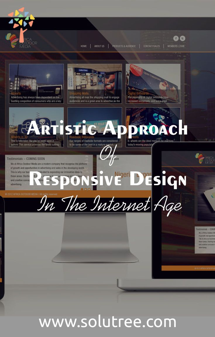 Responsive web design is the art of giving good looks to the web pages in all the concerned devices mentioned above.