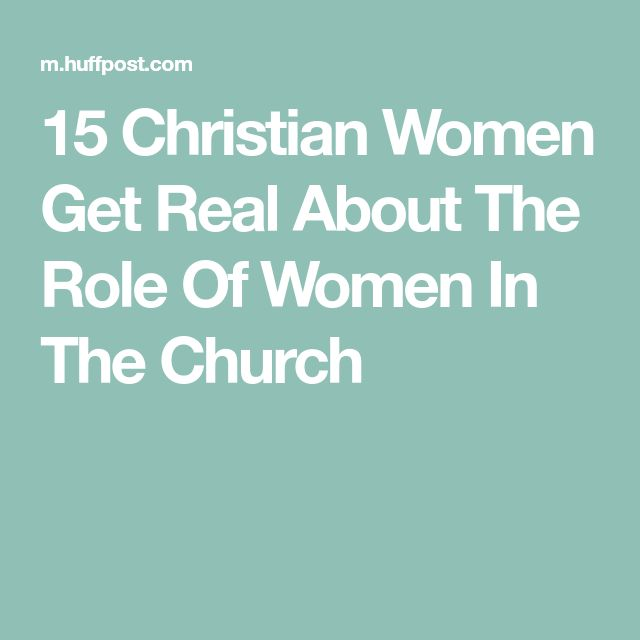 role of women in christianity In romans, chapter 16, the apostle paul commends phoebe to the christians at rome as a servant (diakonos) of the church at cenchreae and sends greetings to women who had been of assistance to him.