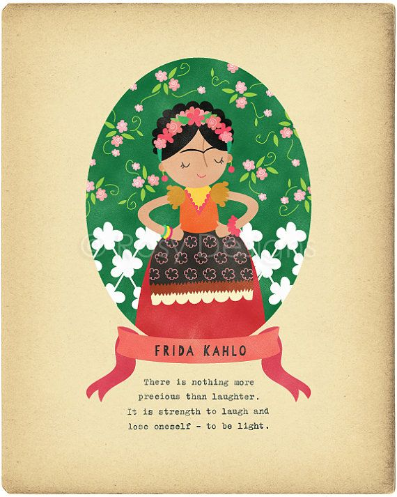 Hey, I found this really awesome Etsy listing at https://www.etsy.com/listing/188396279/frida-kahlo-character-quote-8x10