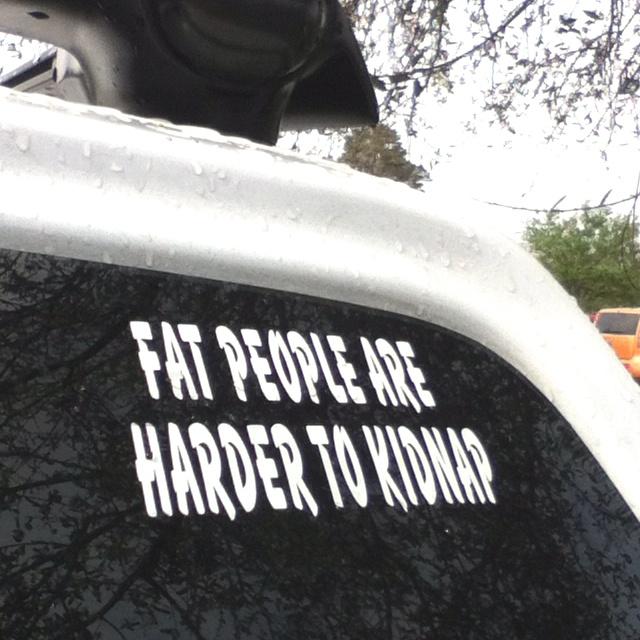 Haha greatest bumper sticker ever (:Weight Watchers, Weights Watchers, Watchers Afteral