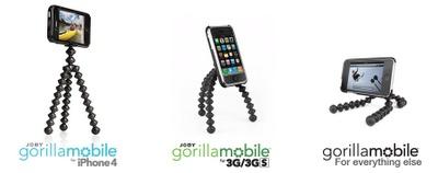フレキシブルなiPhoneスタンド、Gorillamobile for iPhone 4を使ってみた