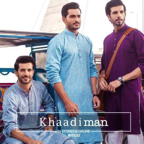 Newest khaadi Men Kurtas Eid Outfit Collection 2016-17 Fashion
