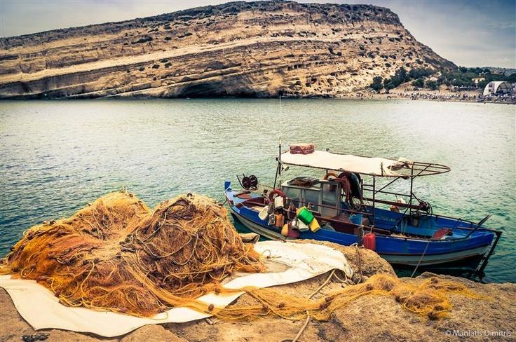 VISIT GREECE| Matala, Crete