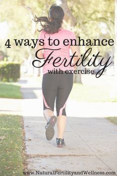 4 ways to enhance fertility through exercise