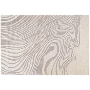Tapis Ebru ivoire by Toulemonde Bochart