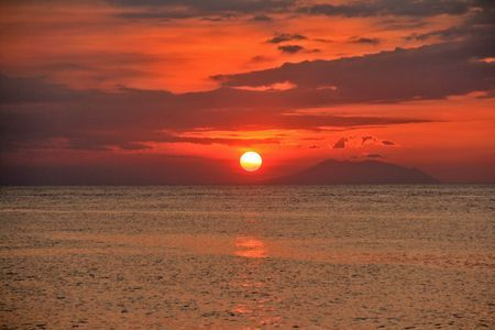 The Red Sunset  Photo by Deni Irawan thamrin -- National Geographic Your Shot