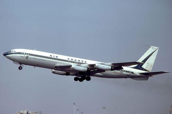 ©Webeugene - Boeing 707 d'Air France F-BHSU