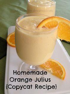 Homemade Orange Julius {Copycat Recipe}