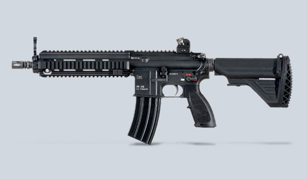 Best AR-pattern rifle: the HK416.  Everybody and their brother makes AR15/M16/M4 rifles these days, but this one is by far the best.