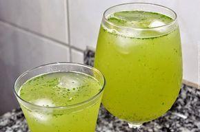 Suco de Limão, Gengibre e Erva Cidreira. Anote a receita. | Conheça Minas