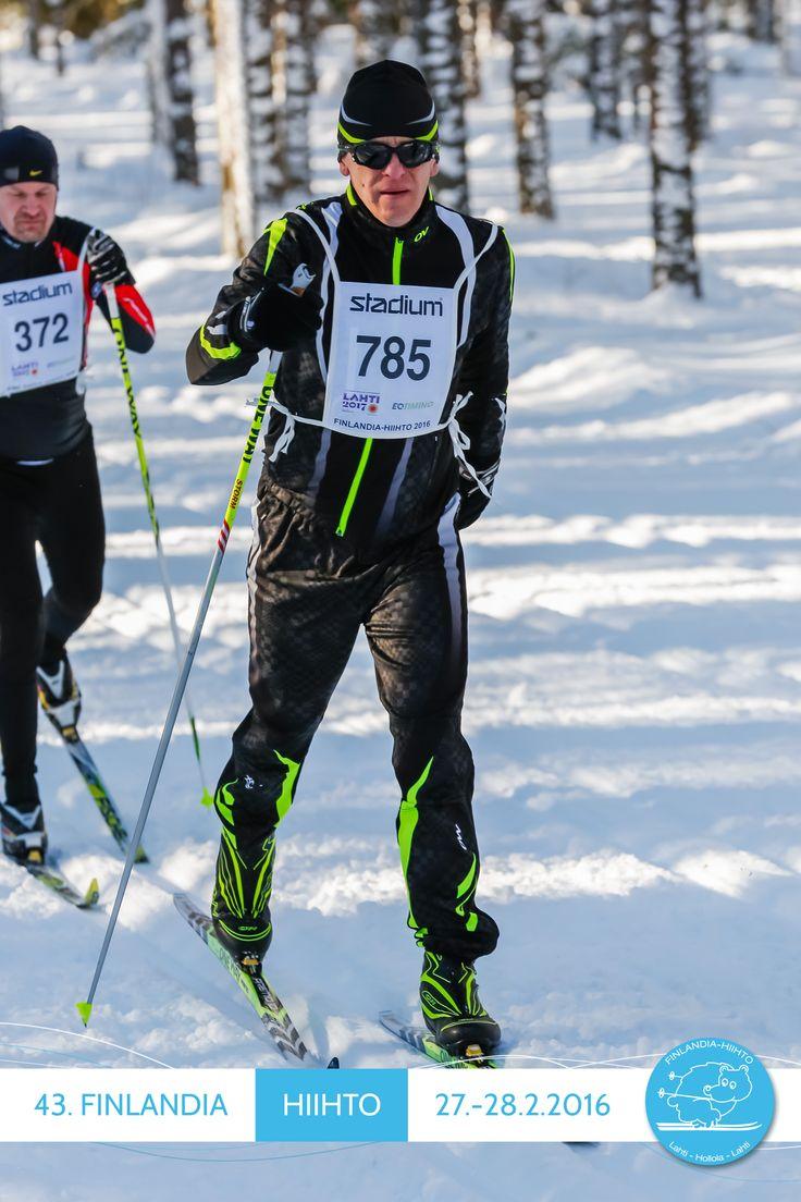 Finlandia-hiihto2016 perinteisellä