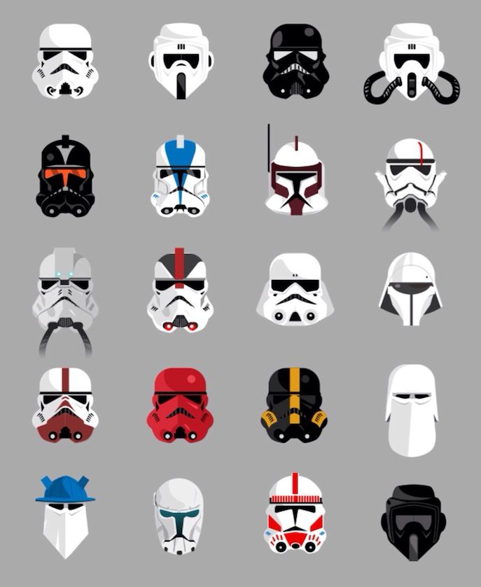 Can You Name All of These Stormtrooper Helmet Variations? | Entertainment Buddha