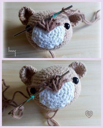 amigurumi häkeln crochet bear