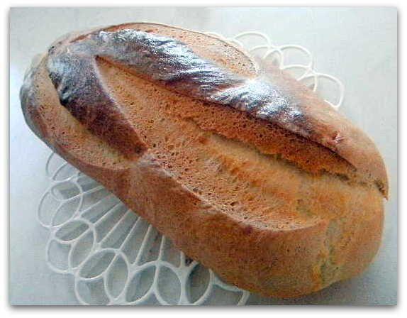 Egy kanál cukor: Félbarna kovászos kenyér