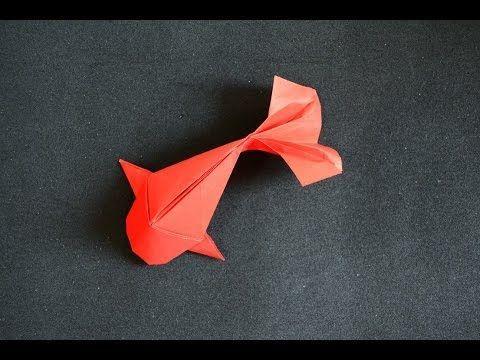 paper folding fish instructions