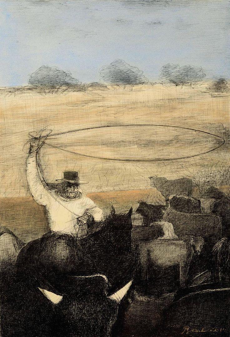 MARTÍN FIERRO, El que era pión domador,  Artista Rosenell Baud. http://www.ellibrototal.com/ltotal/ficha.jsp?t_item=6&id_item=70063