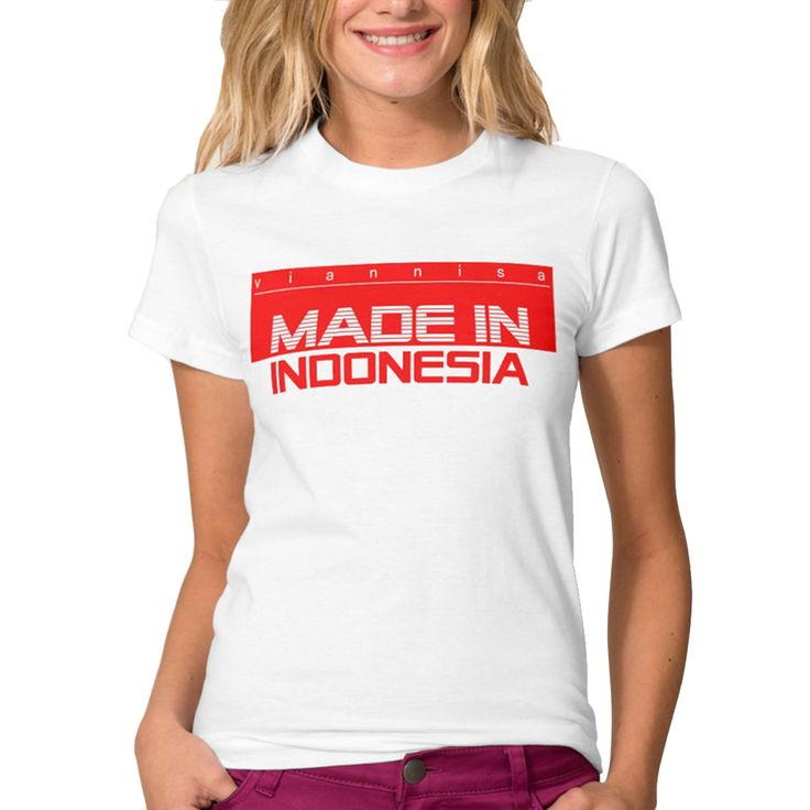 Viannisa Annicha Series with title Made In Indonesia - Putih - Int:S Rp 150.000
