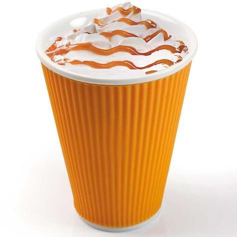 Чашка Ondules 300 мл оранжевая / Les Artistes-Paris / Интернет-магазин дизайнерских вещей AdMe.Shop