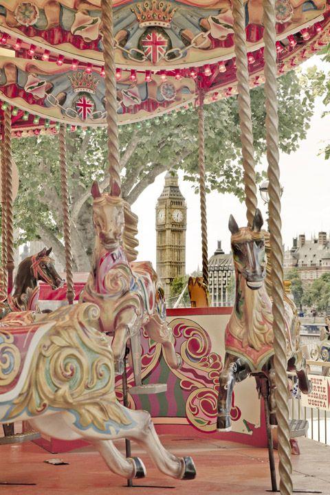 London Southbank Carousel                                                                                                                                                                                 More
