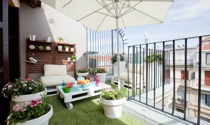 Decorar terraza de estilo chill out - Decogarden