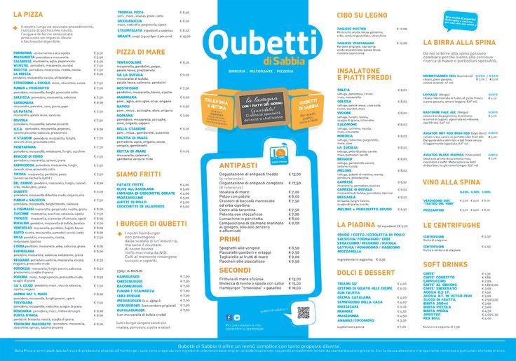 menu pizzerie - Cerca con Google