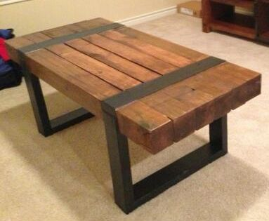 The Jenna Coffee Table from www.Two19ButterflyLane.com