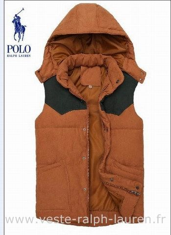polo officiel ralph lauren veste sans hommesches hommes exquis italiens promotions createurs orange bl doudounes - Veste De Cuisine Orange