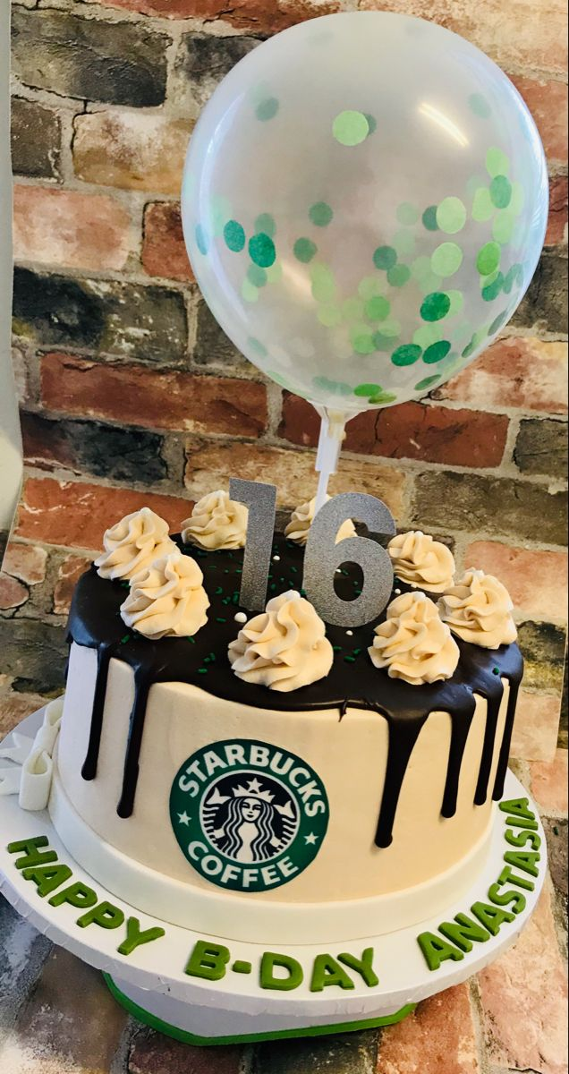 Starbucks Cake in 2020 Starbucks cake, Twin birthday