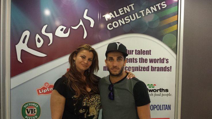 Chloe with Firass Dirani