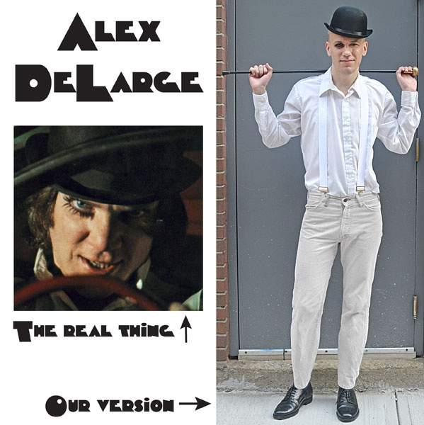 alex delarge costume diy halloween
